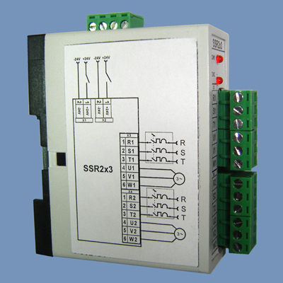 AC output module SSR2x3 (left side)