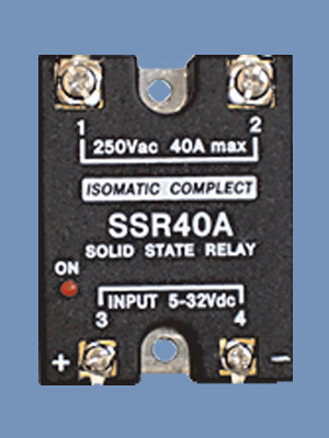 AC output single phase SSR40A