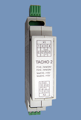 Frequency-to-voltage converter module TACHO 2